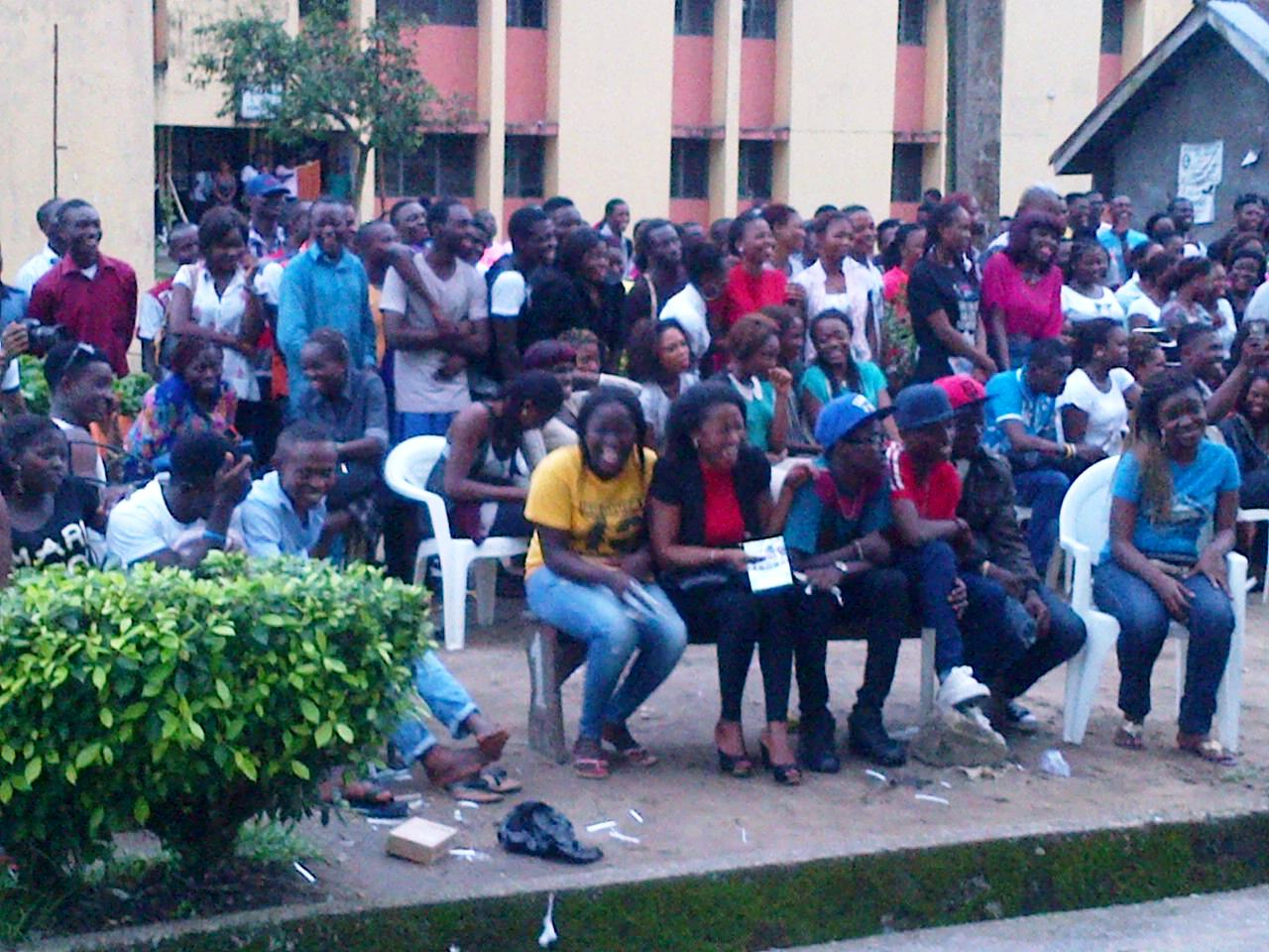 Students been thrilled at CRUTECH hall two Arena