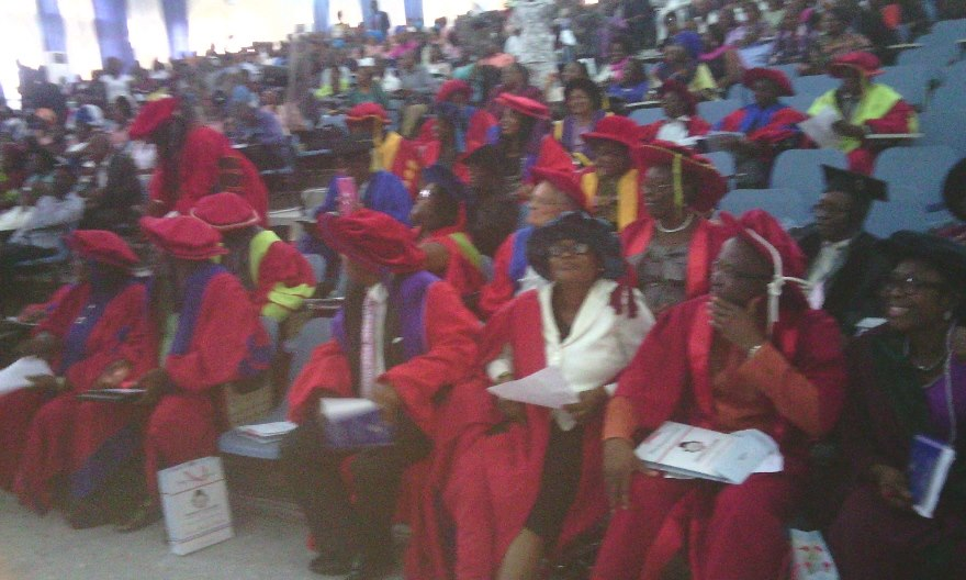 The academia at the UNICAL inaugural lecture