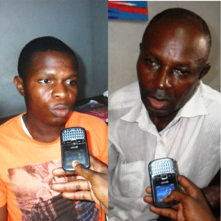 Mr. Michael Nkem and Mr. Akpandem Effiom