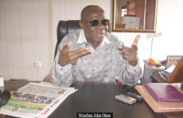 Ntufam John Okon, Chairman, PDP Cross River State