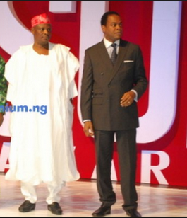 Governor Rabiu Musa Kwankwaso and former governor Donald Duke (photo credit: Encomium)