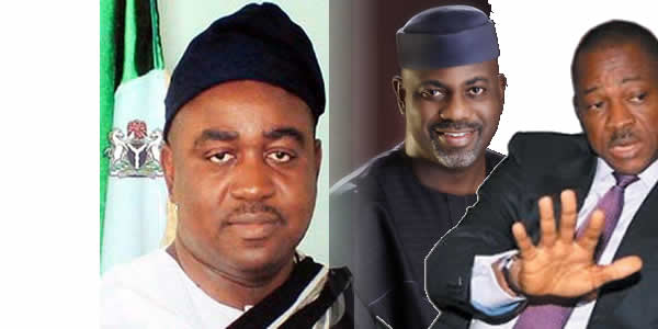 Govs Suswam, Imoke and Chime - Unhappy with their party, PDP