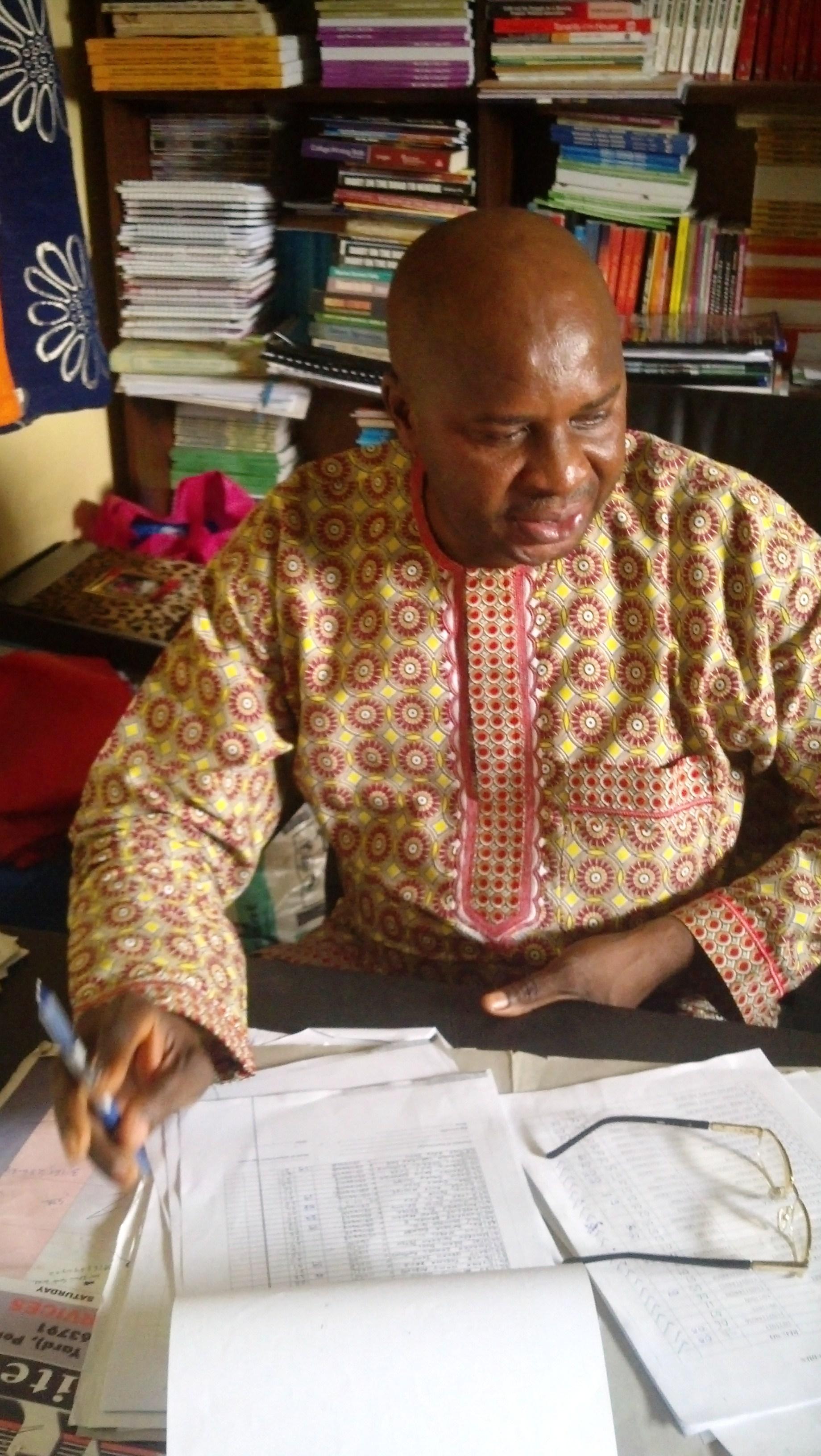 Dr. James Okpiliya, former ASUU Chair, UNICAL