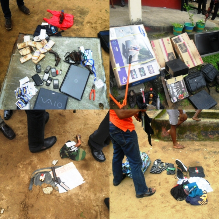 Some recovered stolen items