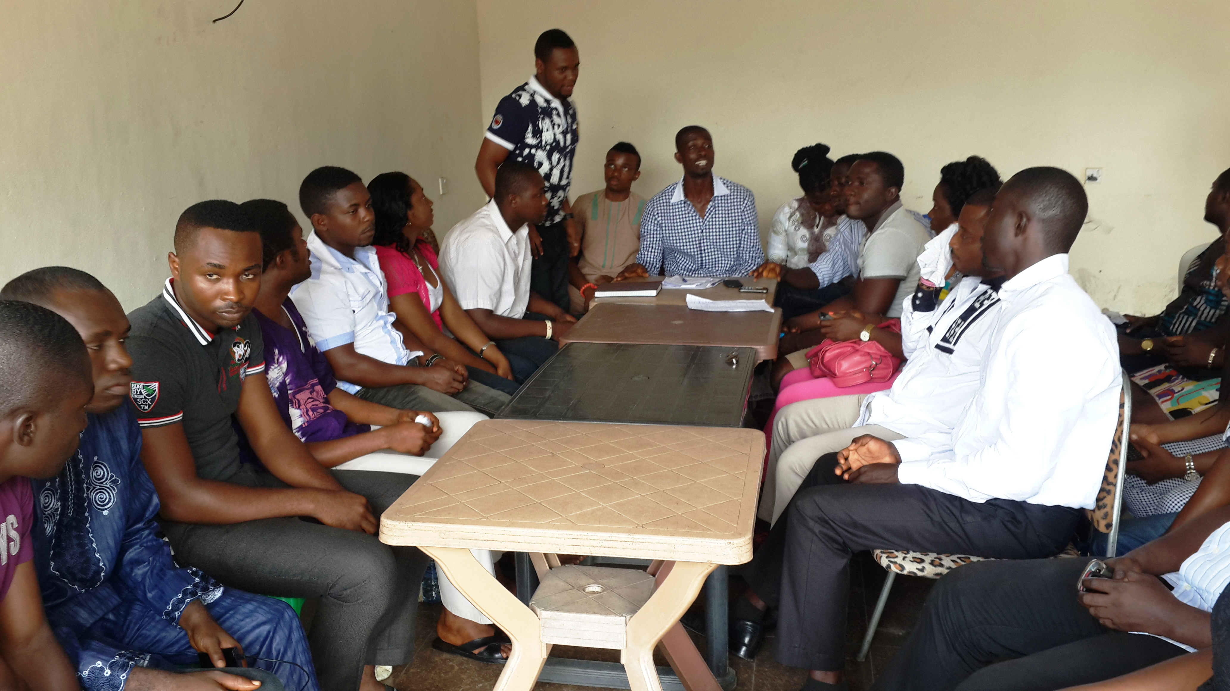 Enlarged meeting of NEC/Caucus of executive members of Southern Cross River Students World-Wide (SOCRISS)