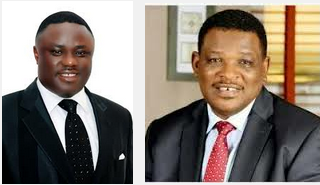 Ben Ayade and Jedy Agba