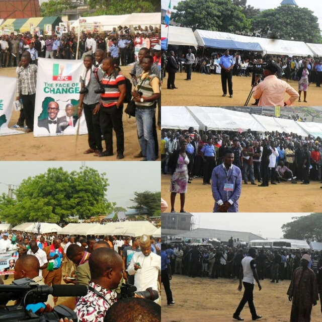 Cross section of the APC members present the venue of the occasion.