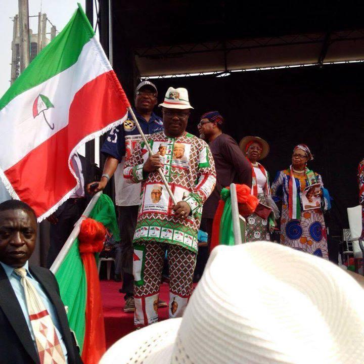 Senator Ben Ayade - Set to flag off campaign