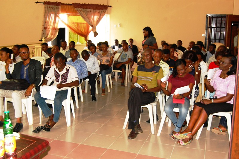 cross section of participants in the event