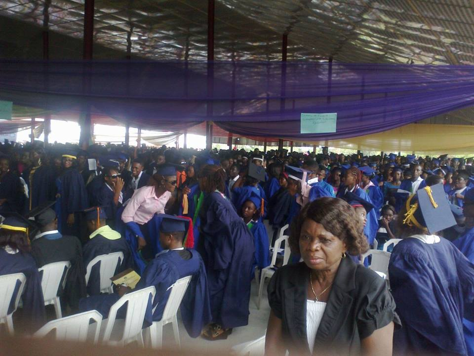 The matriculating students