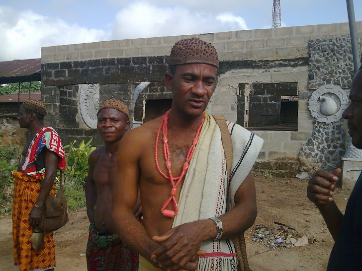 His Highness, Obol Sunday Okoi, King of Mkpani