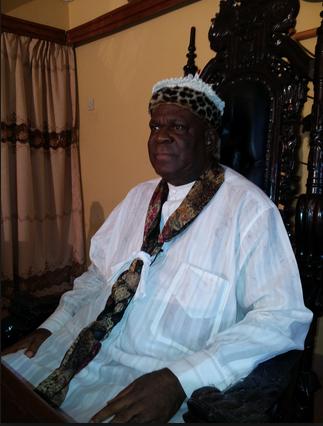 The Obong of Calabar, His Eminence, Edidem Ekpo Okon Abasi Otu