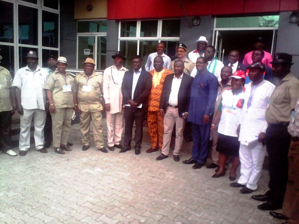 Cross section of invited members of various political parties at the interactive session and the organizers