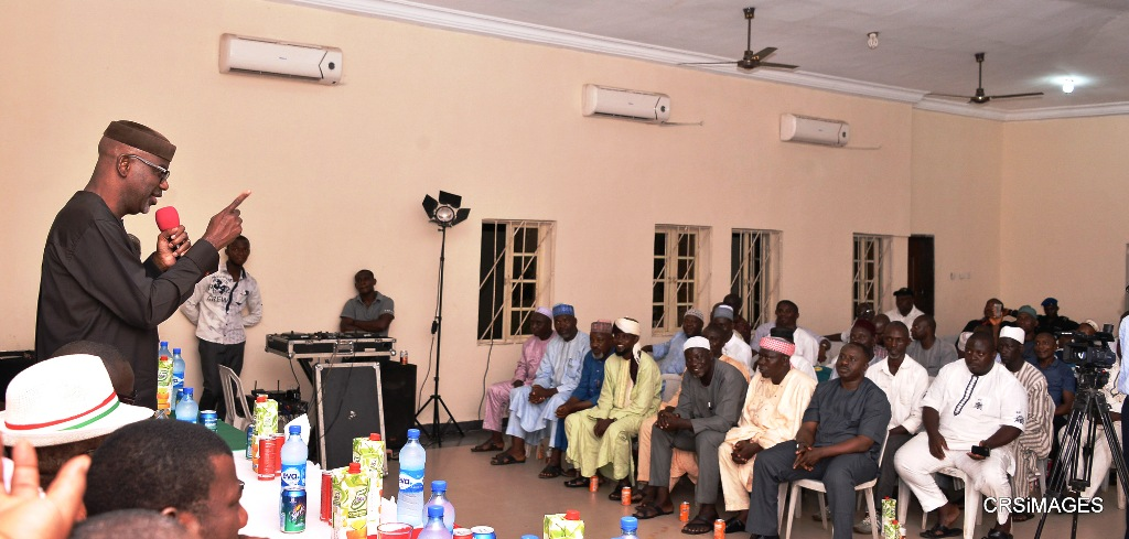 Imoke meets with hausa community