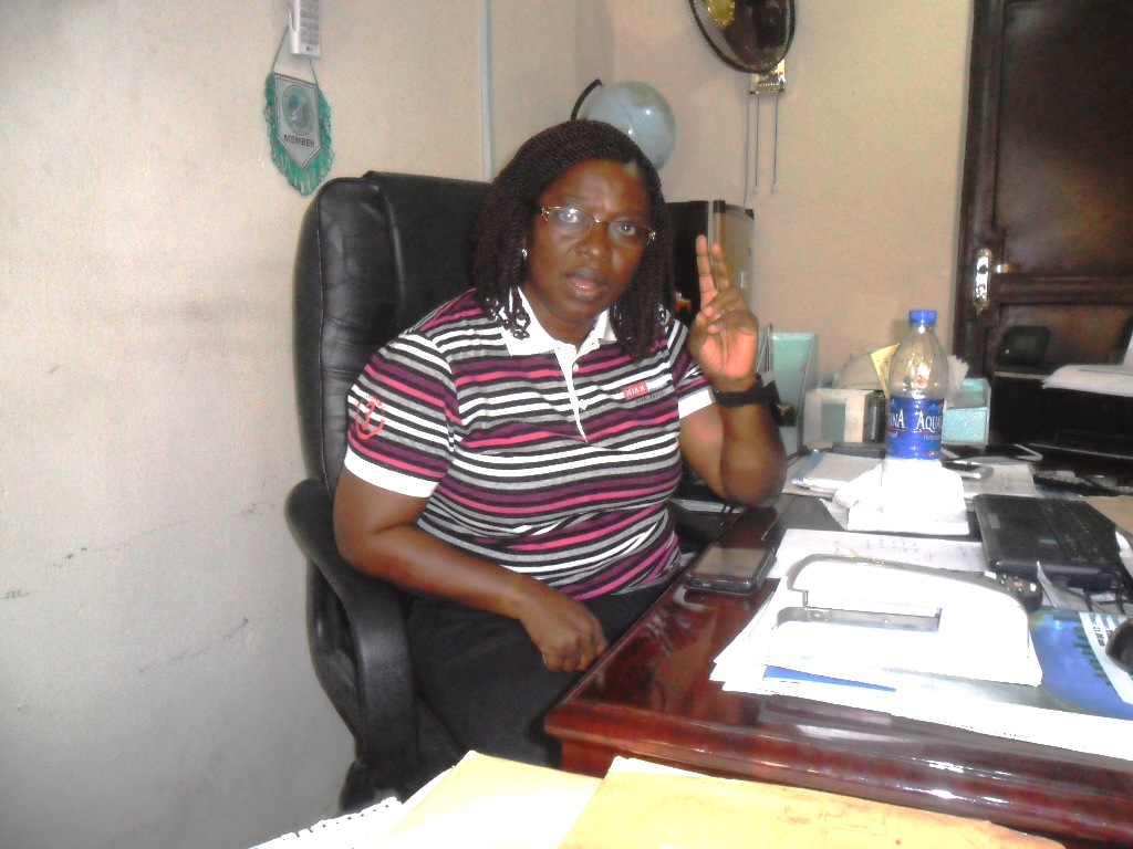 Cross River State Chapter Chairman of Nigerian Institute of Surveyors, CRS-NIS, Dr. Gertrude Nnanjar Njar, speaking to CrossRiverWatch in her office in Calabar