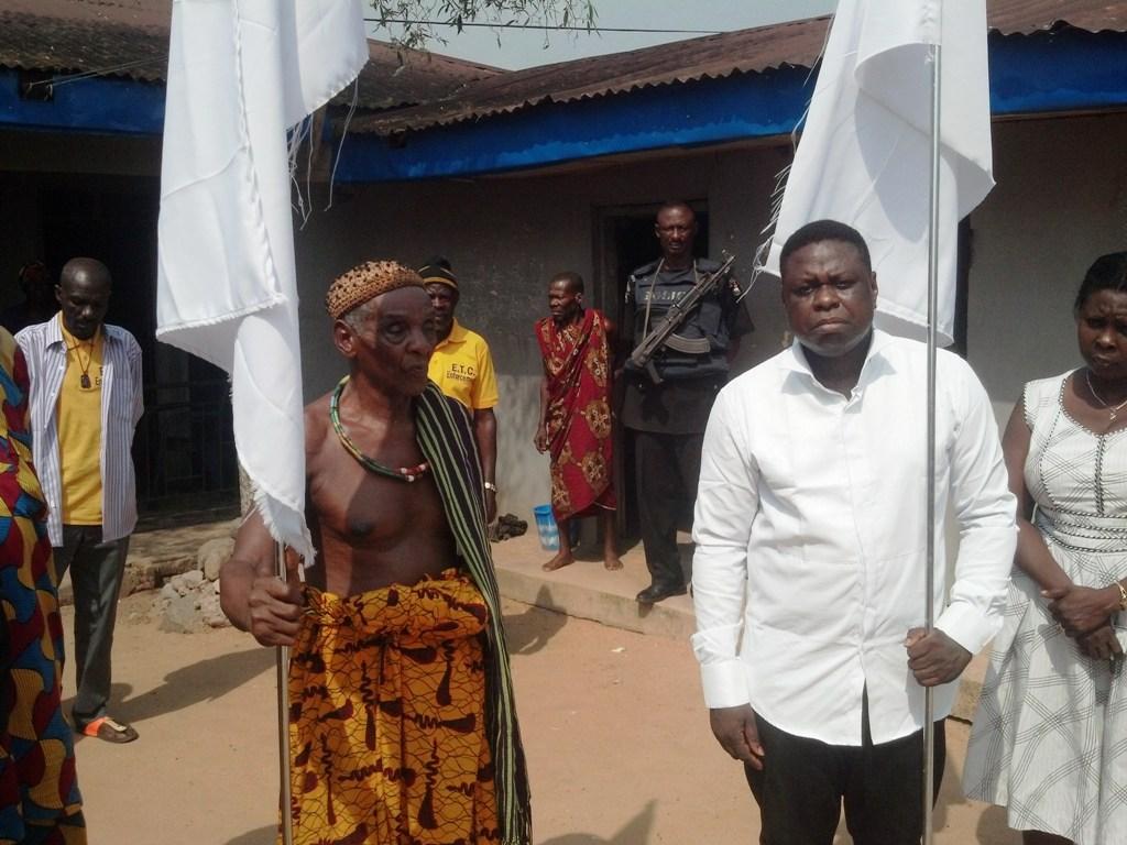 Obol Lopon of Ekori and Imoke's Representative