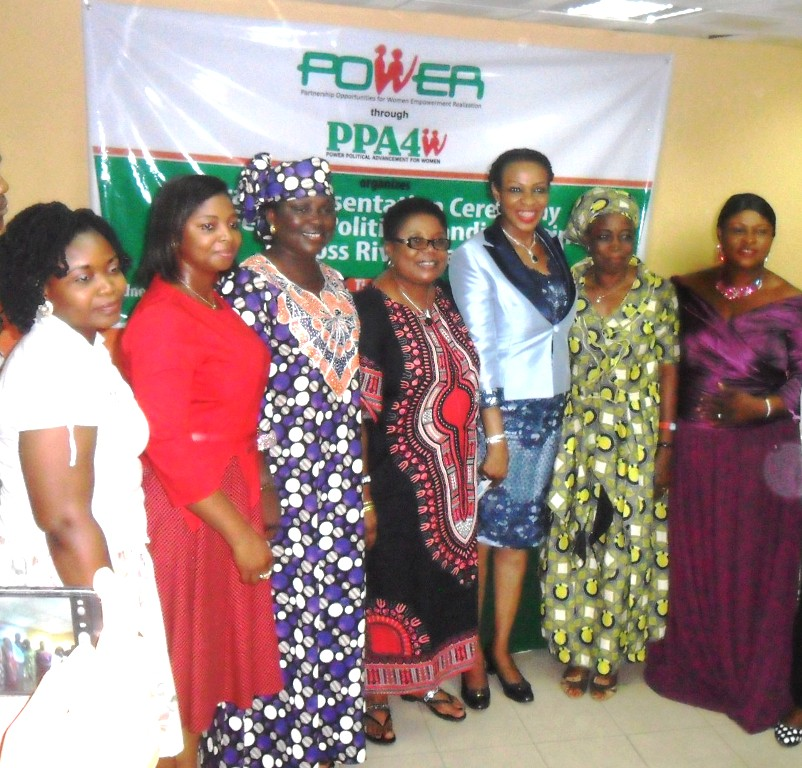 Cross section of the beneficiaries with Obioma Imoke, Cross RIver First Lady.