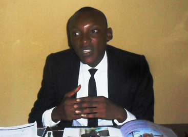 Ajang Emmanuel, SUG President, UNICAL