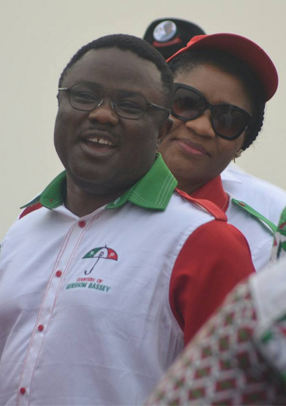 Senator Ayade and Wife