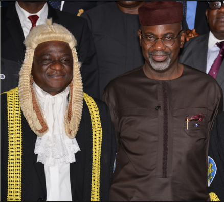 Speaker, Hon. Larry Odey and Governor Liyel Imoke