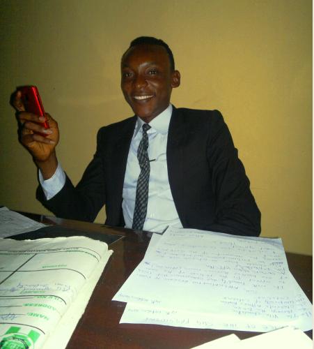 Emmanuel Ajang, SUG President, UNICAL