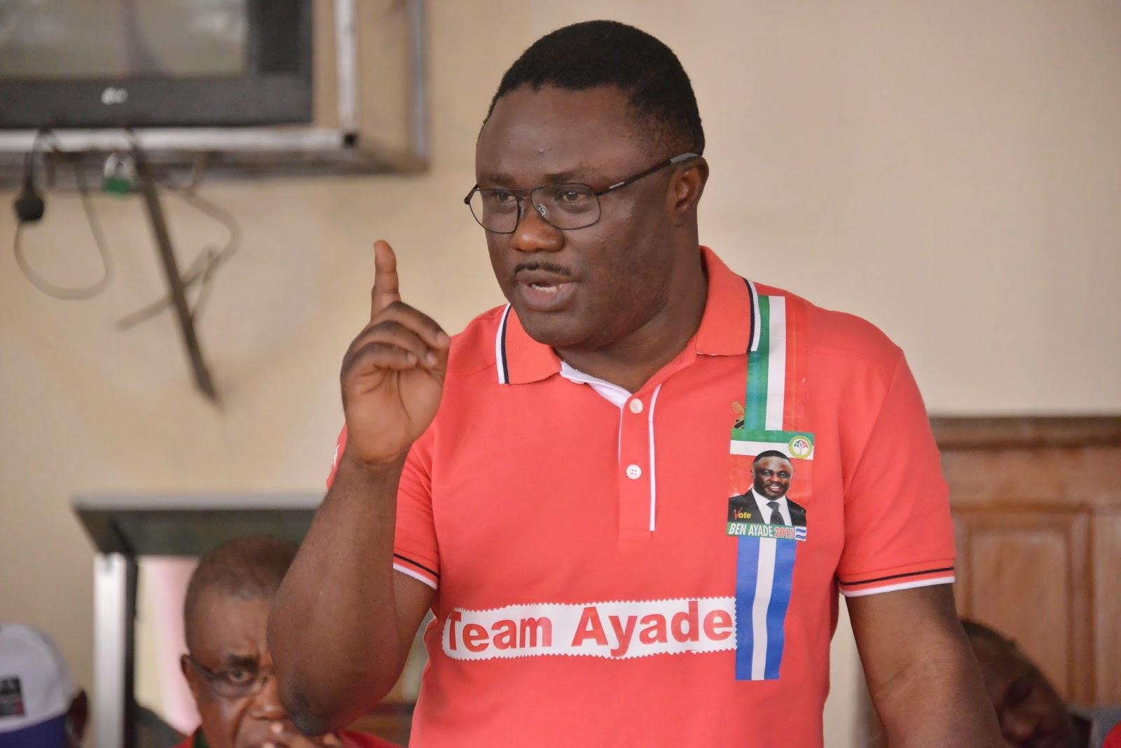 Senator Ben Ayade, Governor Elect, Cross River State