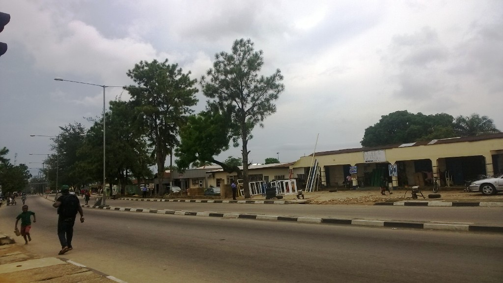 Calabar Streets, deserted for Mama P