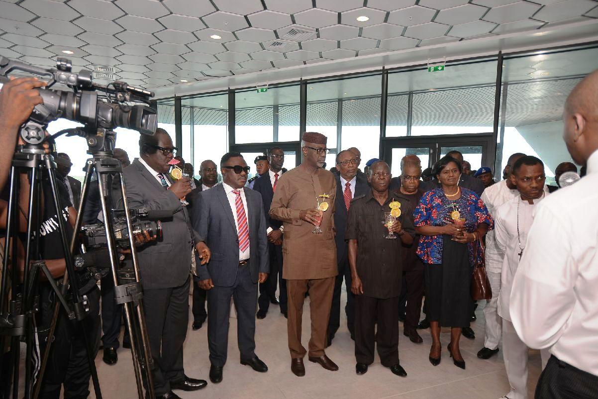 Efiok Cobham, Senator Ayade, Governor Imoke and Governor Adams Oshiomhole