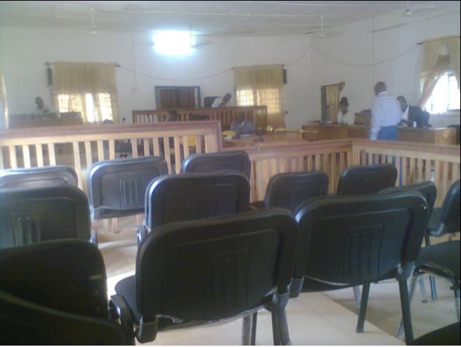 Obudu Legislative Council in session
