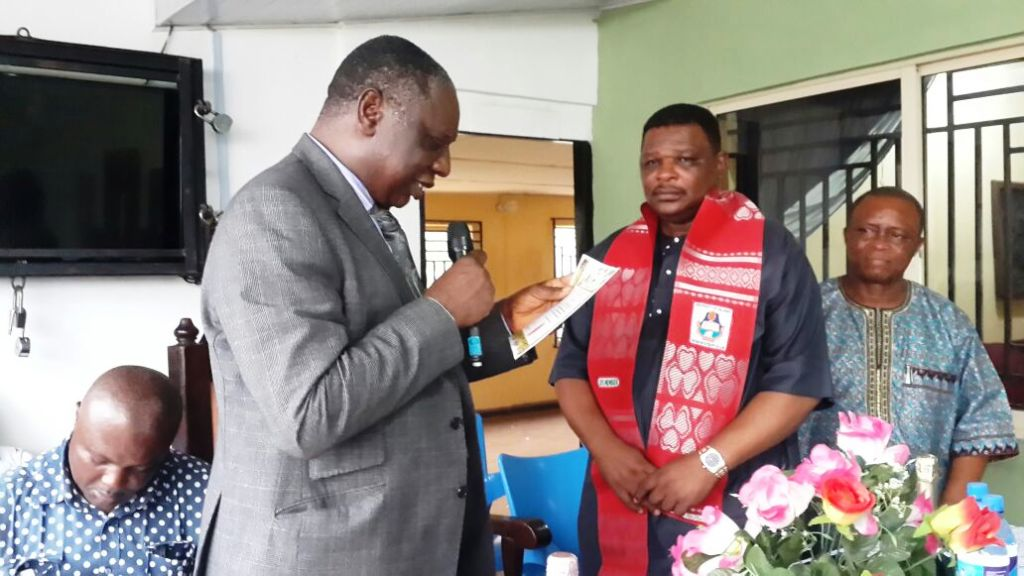 UNICAL Staff Union Honors Jedy Agba As A Lifetime Member