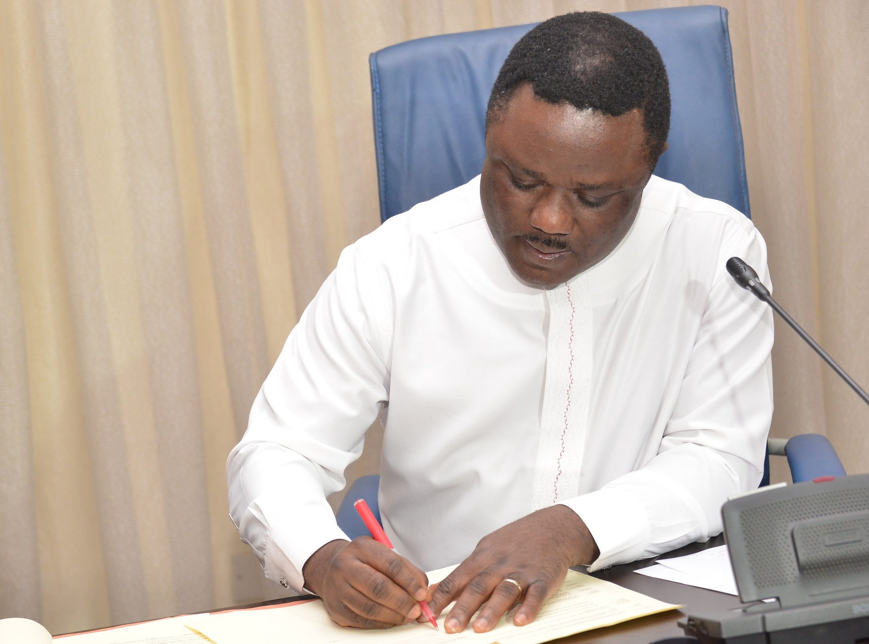 Ayade Signing Infrastructure law