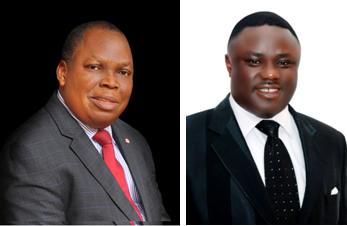 Governor Ben Ayade and Ntufam Fidelis Ugbo