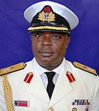 Rear Admiral Ibok-Ete Ekwe Ibas, Chief of Naval Staff.