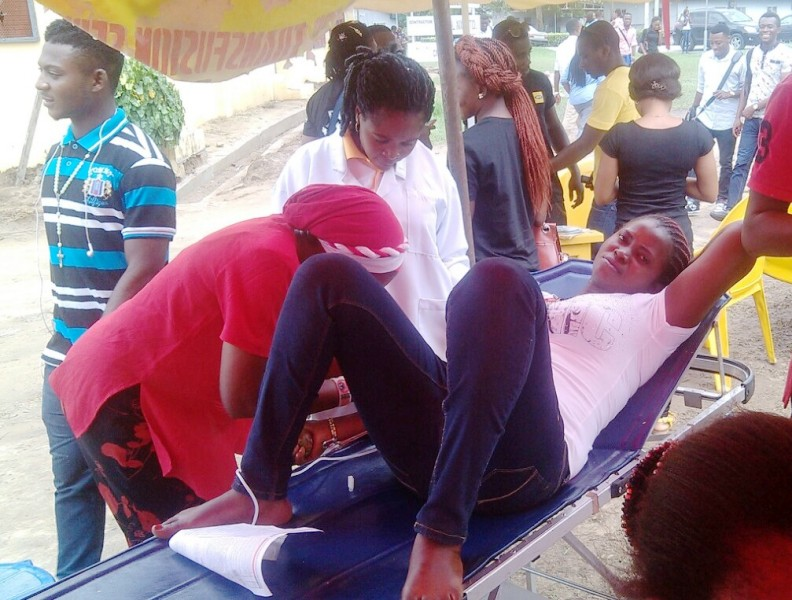 National Blood Transfusion Center Conducts Blood Donation Drive In Calabar