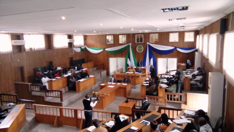 Plenary of the House of Assembly yesterday