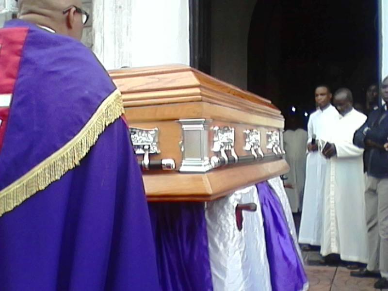 Remains of Rev. Fr. Francis Patrick Obong