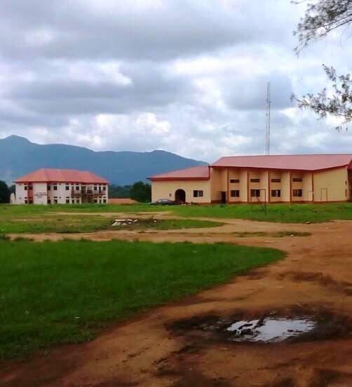 Deserted FCE campus
