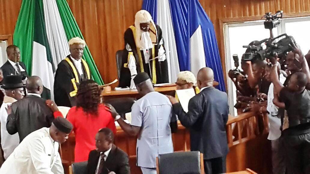 speaker swearing in other members