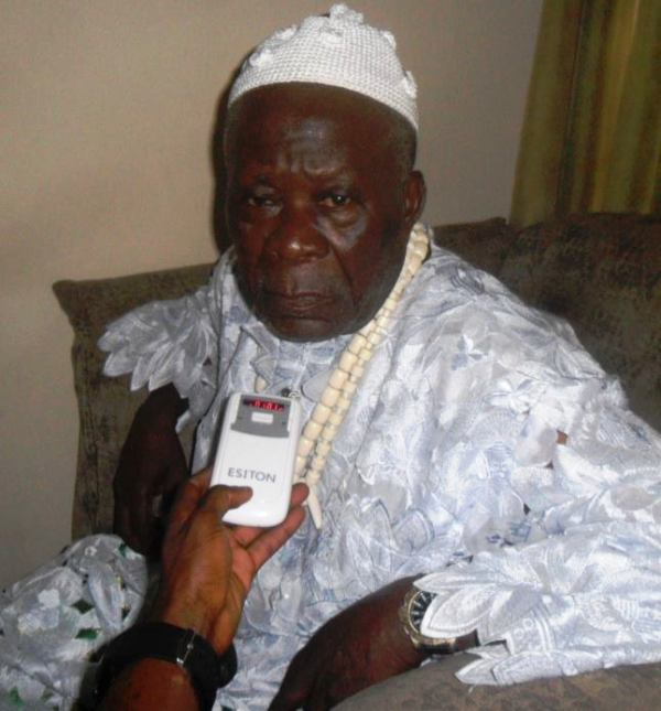 Paramount Ruler of Akamkpa Local Government Area, His Royal Majesty Ntufam Clement Emayi