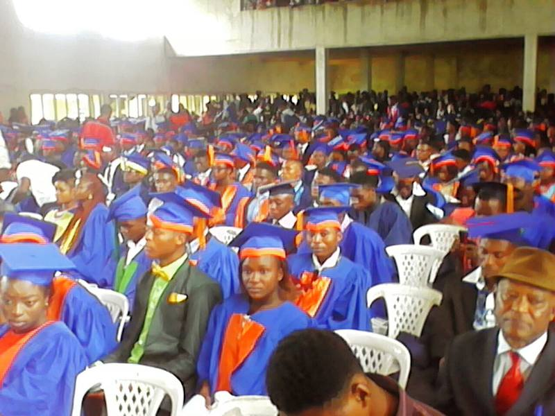 CRUTECH students during the matriculation ceremony in Calabar