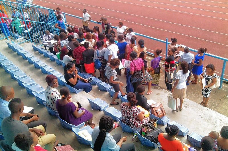 A cross section of the applicants