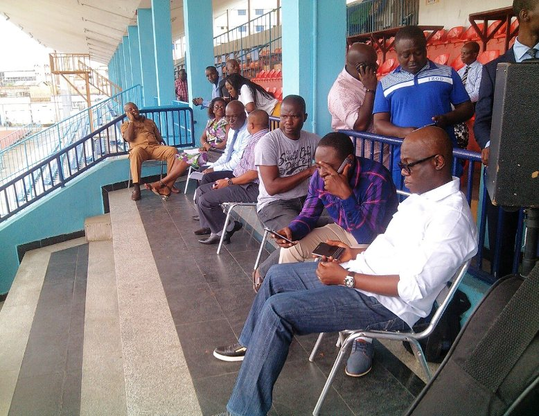State Security Adviser and CPS at the venue
