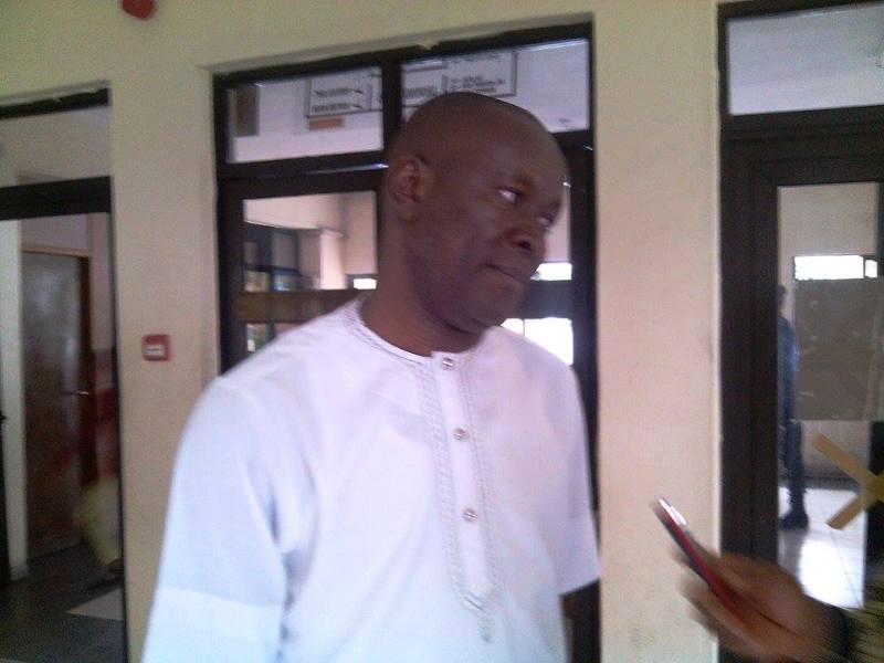 Senator Owan Enoh during the interview with CrossRiverWatch