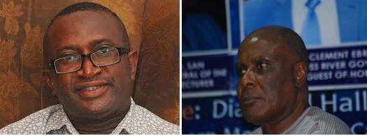 Senator Ndoma Egba and Chief Clement Ebri