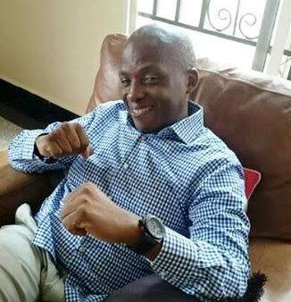 Senator Gershom Bassey - in victory mood