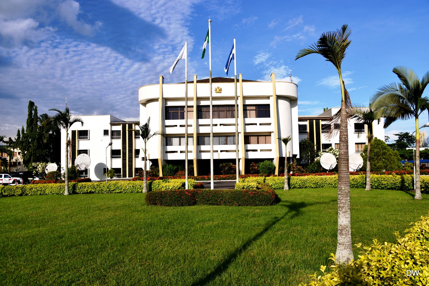 Cross River State Government House - Governor Ayade wants the compound to return to it's hitherto sparkling look