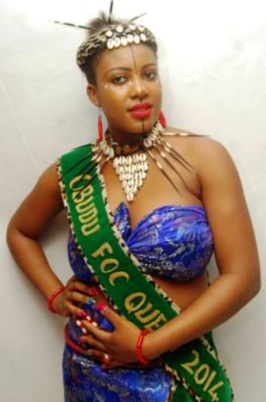 Queen Evelyn Ugbaka, outgoing Face of Obudu Culture