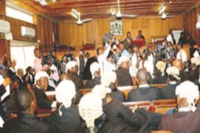 Tribunal in session