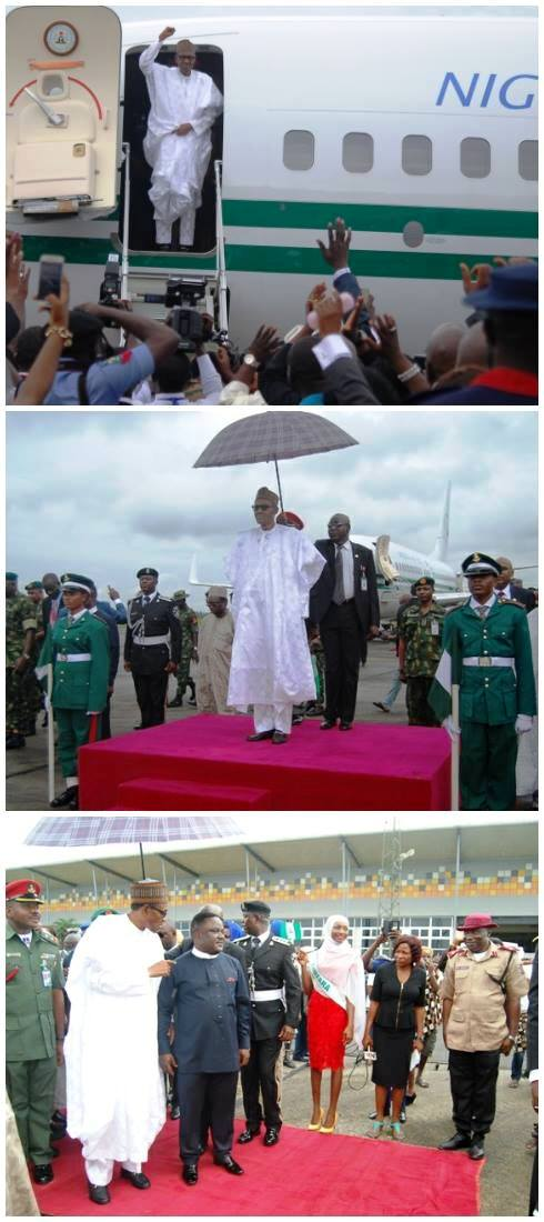 buhari arrives2