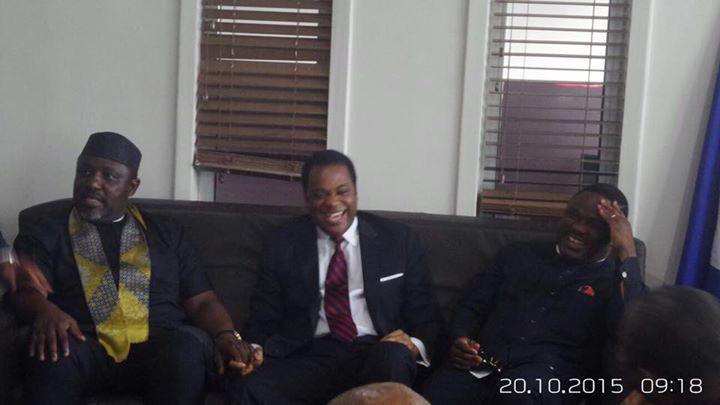Governor Rochas Okorocha of Imo, Former Governor Donald Duke and Governor Ben Ayade